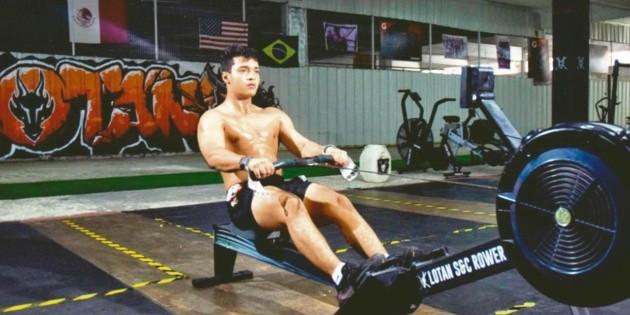 Rivaldo Flores deja los videojuegos y se convierte en top fitness