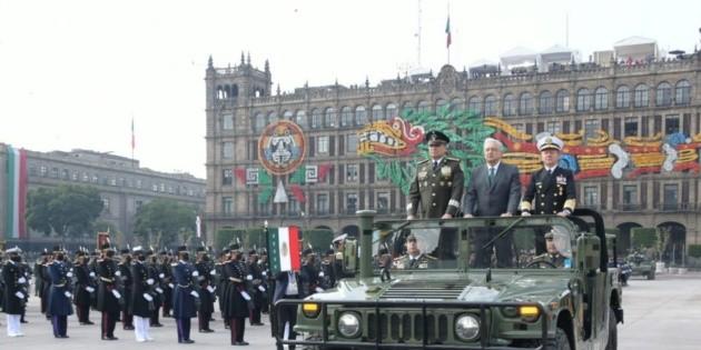 Prevé AMLO aumentar la fuerza militar en 2022