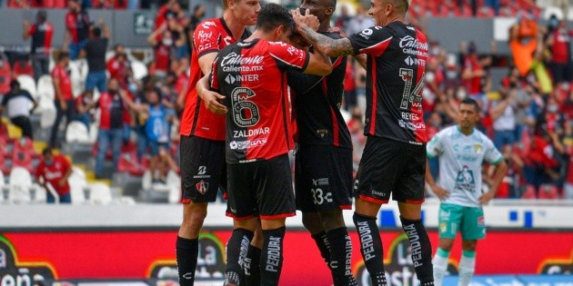 Liga MX: Atlas confirma su buen momento y le pega a León