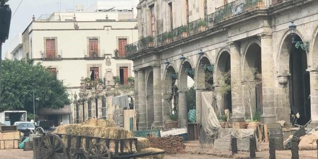 ¿Qué están filmando en el Centro de Guadalajara?