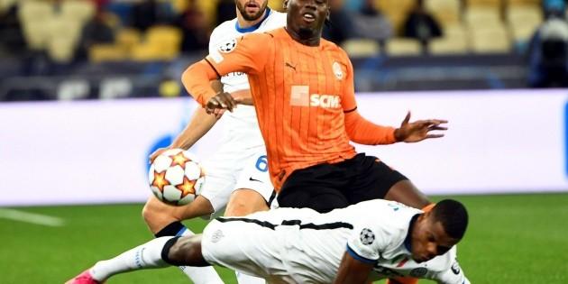 Video: Jugador sufre escalofriante lesión en el partido Shakhtar vs Inter