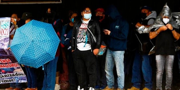 México reporta 596 nuevas muertes y nueve mil 796 casos de COVID