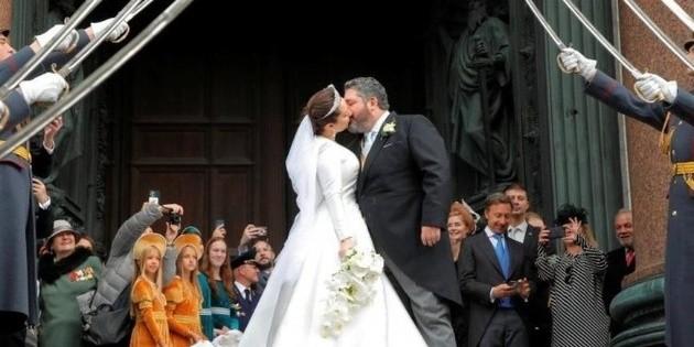Celebran la primera boda real en Rusia en más de un siglo