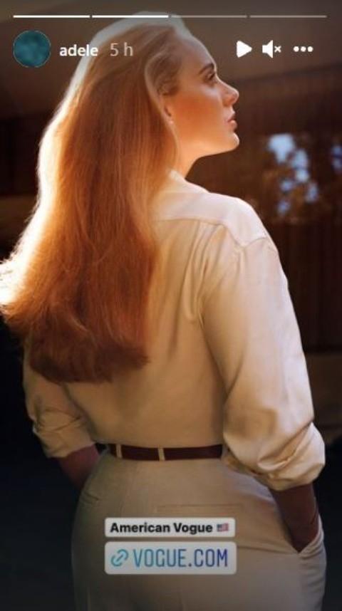"""Adele on the Other Side"""" El nuevo artículo de Vogue   El Informador"""