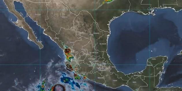 Tormenta tropical 'Pamela' dejará lluvias muy fuertes en Jalisco en próximas horas