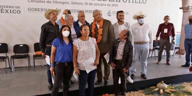 Temacapulín dice sí a El Zapotillo a 80 metros
