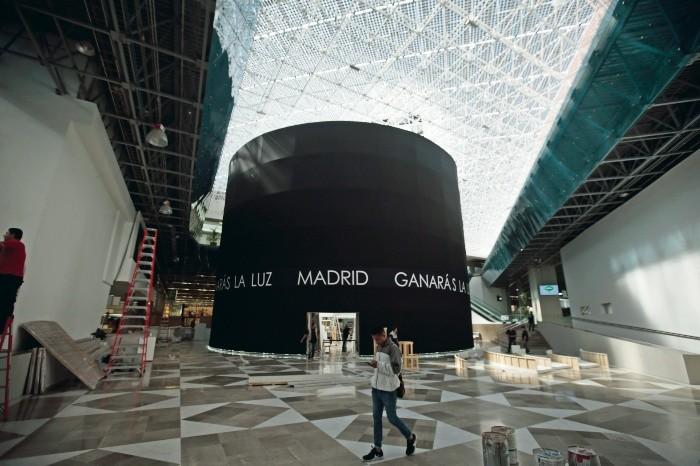 Arte madrile o llega a guadalajara el informador - Pabellon de deportes de madrid ...