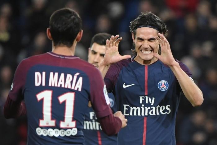 Dos goles de Angel Di María en la goleada de PSG