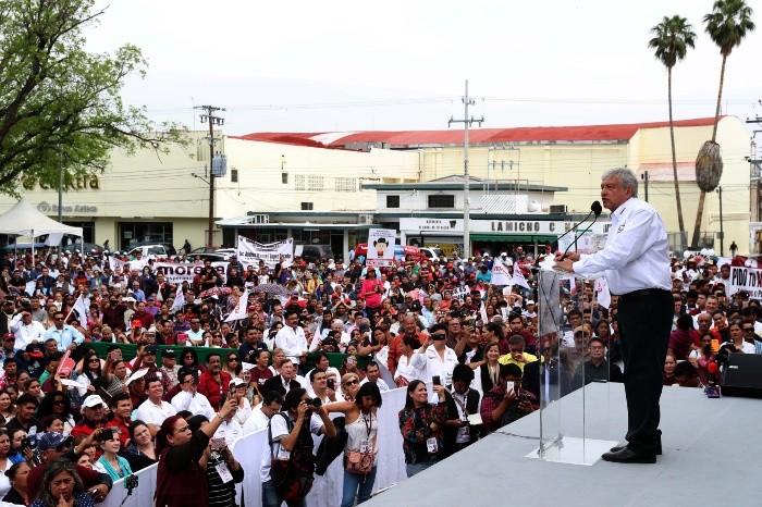 López Obrador mantiene preferencia al poder en México