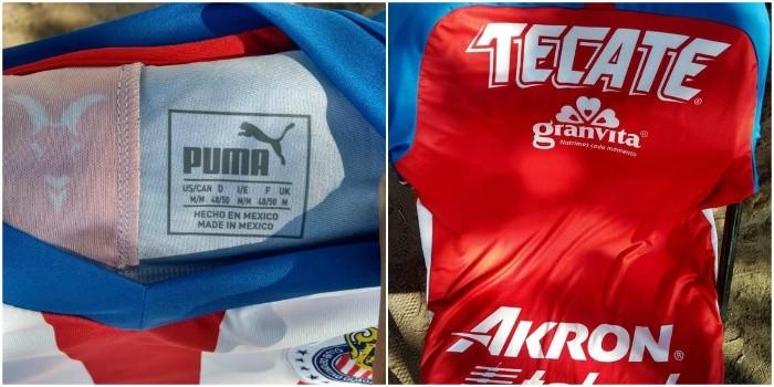 64161a06a Filtran posible nuevo jersey de Chivas